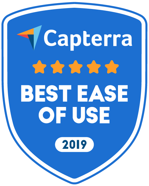 capterra best ease of use award 2019